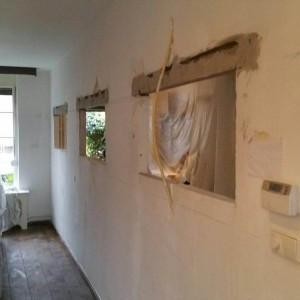 Woonkamer renovatie - Stukadoorsbedrijf John Daenen